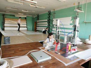 Производство натяжных потолков